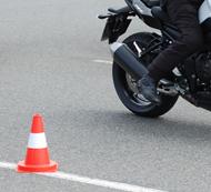 Grundfahruebungen Motorrad