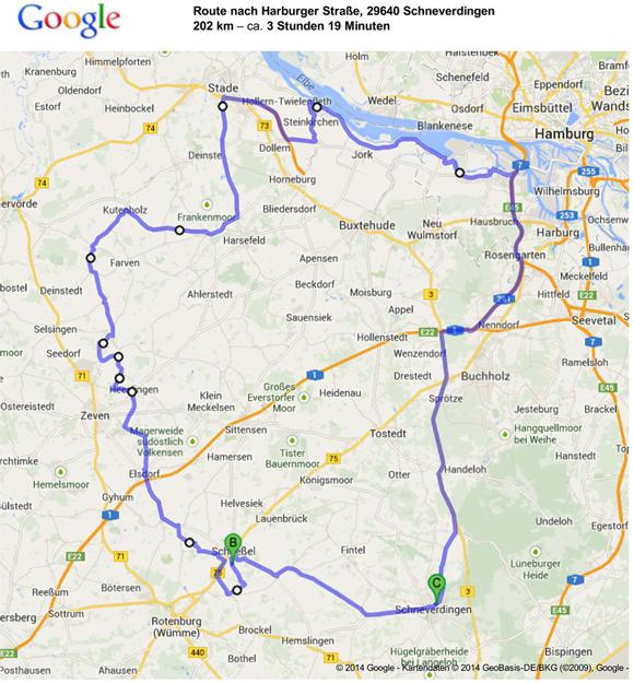 motorradfahrer - unterwegs.de | Tourplanung für den 30.12.2013