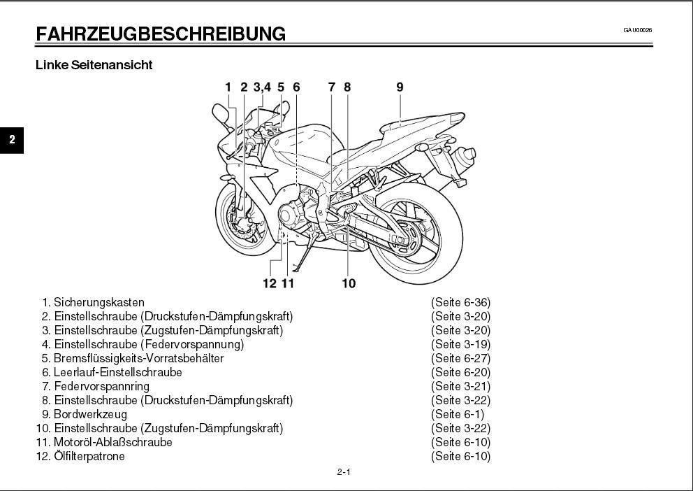 Fahrzeugbeschreibung Yamaha YZF-R1 RN09