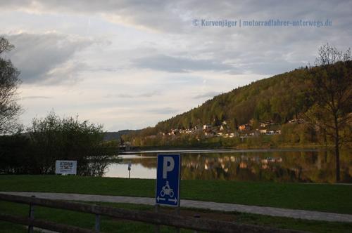 kurvenjäger | motorradfahrer-unterwegs.de - Bikertreff Stausee Happurg