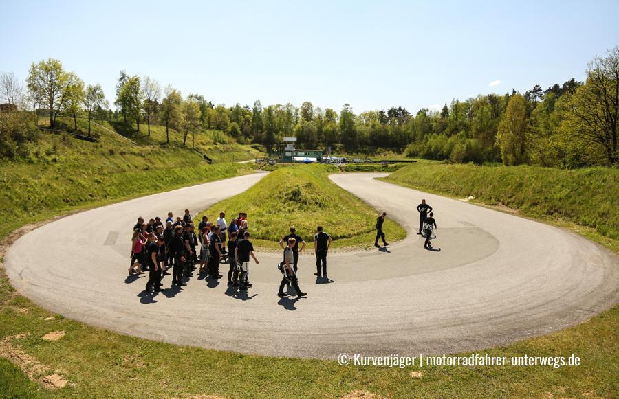 Motorrad-Kurventraining Heidbergring 2016