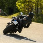 Motorrad-Kurventraining vor Tourstart