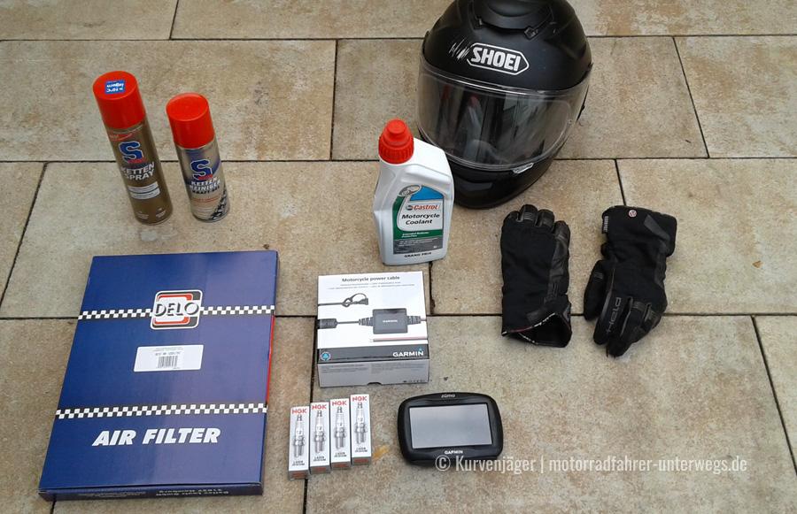 Kaufteile Motorradwartung | motorradfahrer-unterwegs.de