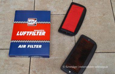 Luftfilterwechsel | motorradfahrer-unterwegs.de