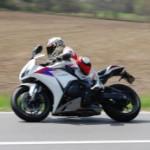Vorfreude aufs Motorrad Kurven fahren