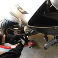 Kurvenjäger | motorradfahrer-unterwegs.de - Vorderradausbau