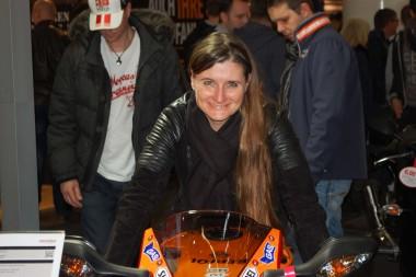 kurvenjäger | motorradfahrer-unterwegs.de - Motorradmessen 2015 - Honda CBR Repsol Edition