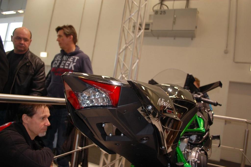 kurvenjäger | motorradfahrer-unterwegs.de - Motorradmessen 2015 - Kawasaki Ninja h2