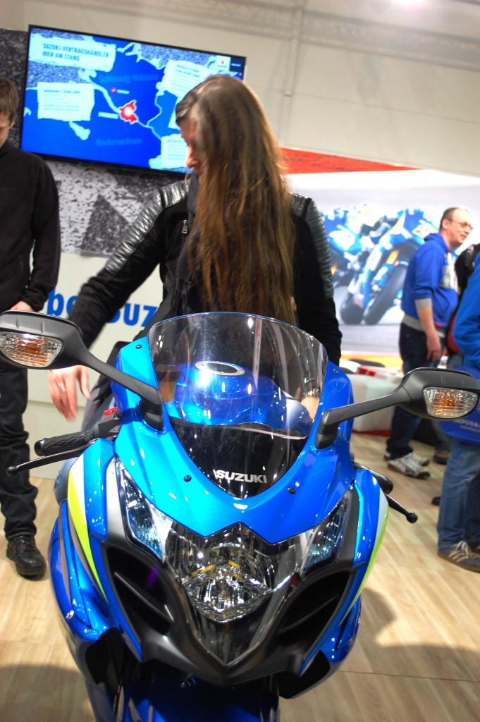 kurvenjäger | motorradfahrer-unterwegs.de - Motorradmessen 2015 - Suzuki GSX-R