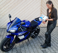 "kurvenjaeger |motorradfahrer-unterwegs.de - Saison-Neustart ""Blue Lady"" 2015"