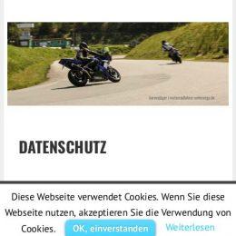 Datenschutz | motorradfahrer-unterwegs.de