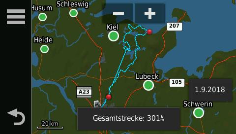 GPX-Track der Hohwachter Motorradtour Norddeutschland | kurvenjäger - motorradfahrer-unterwegs.de