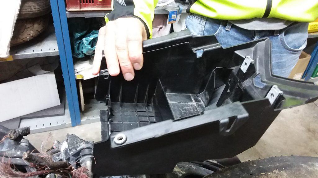 Neuer Heckrahmen für die BMW S1000RR
