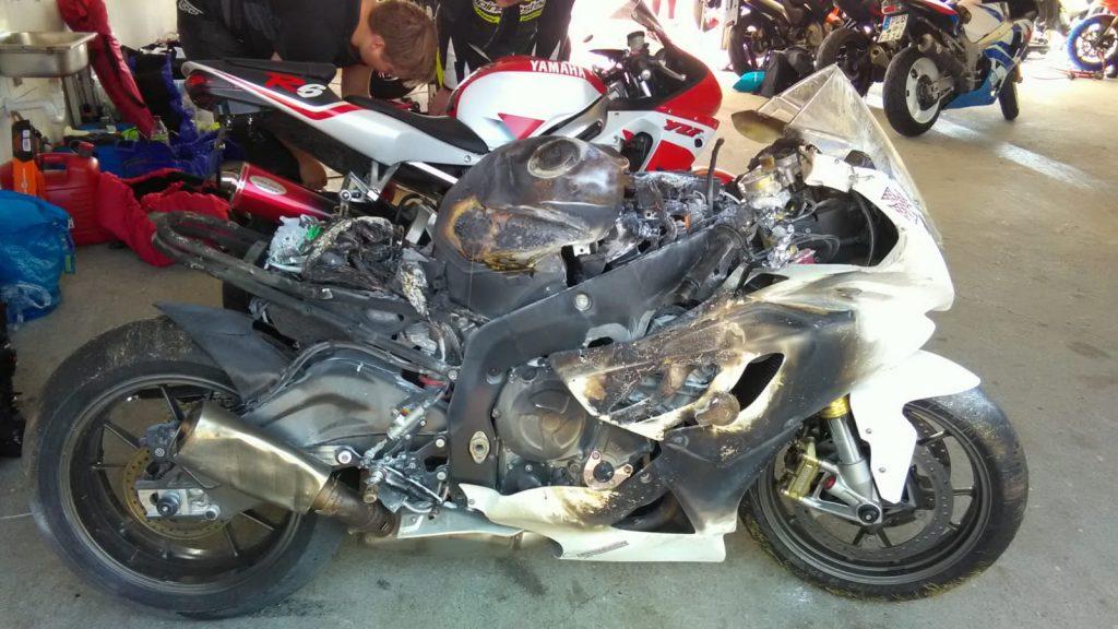 Wiederaufbau Projekt 2018/2019: Rennstrecken-Motorrad BMW S1000RR
