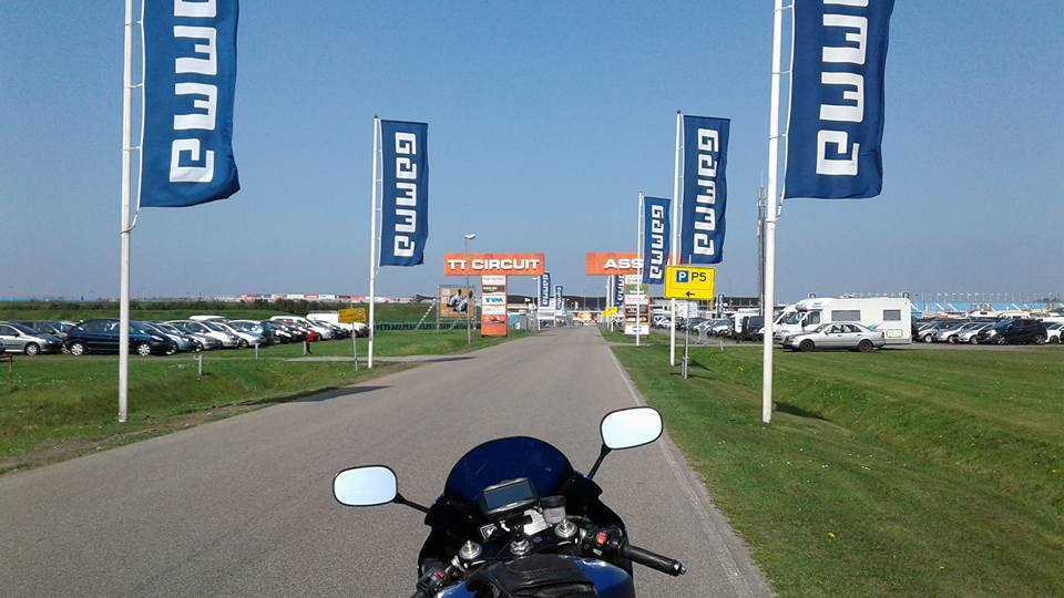 TT Circuit Einfahrt Dutch Round World Superbike Championship 2018 Assen