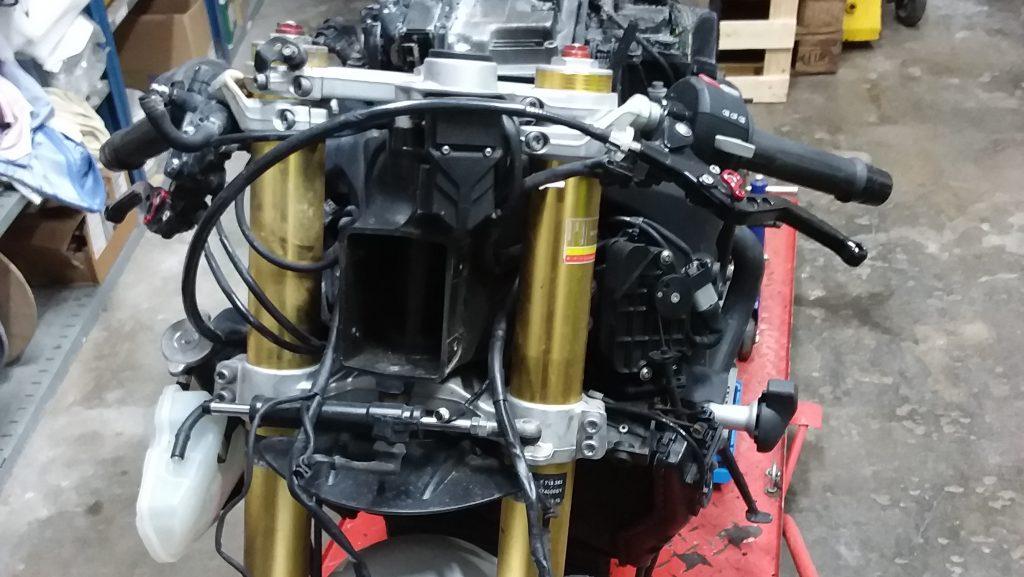 Winter Projekt 2018: Wiederaufbau für die Rennstrecke BMW S1000RR