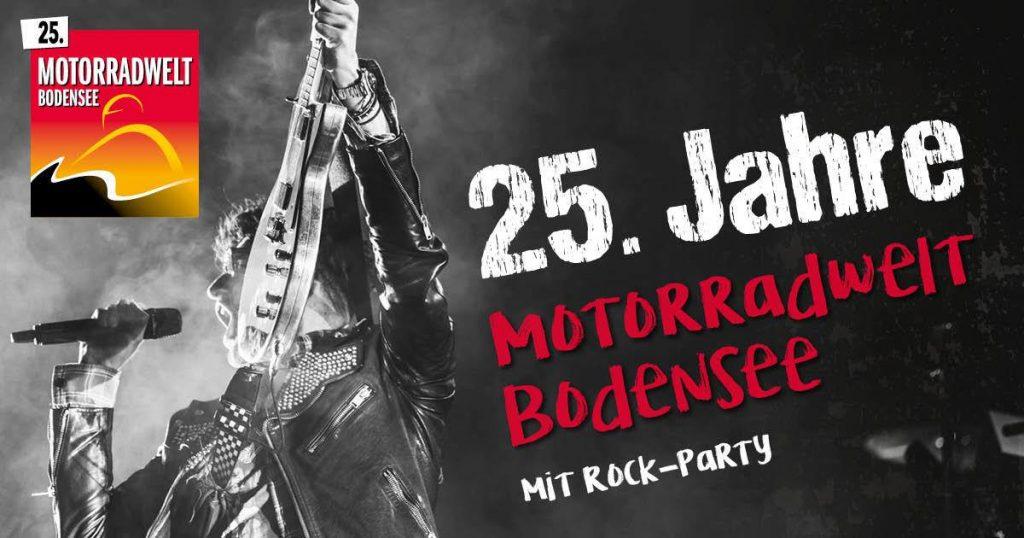 Rock-Party zu 25 Jahre Motorradwelt Bodensee 2019 | Kurvenjäger - motorradfahrer-unterwegs.de