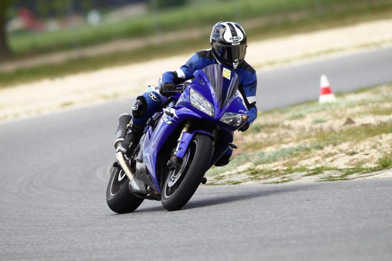 Mein Motorrad Sportfahrer-Training auf dem Spreewaldring am letzten Wochenende