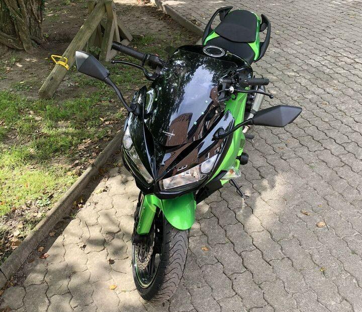 Sporttourer Kawasaki Z1000 SX von privat zu verkaufen