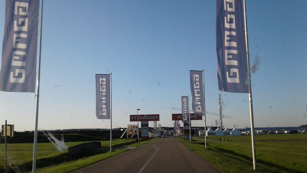 Paddock Einfahrt TT-Circuit Assen